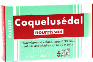Coquelusedal nourrissons, suppositoire