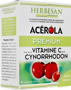 Acérola premium vitamine c 500