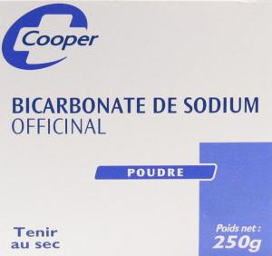 Bicarbonate de sodium poudre