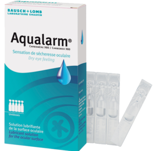Bausch + lomb aqualarm solution ophtalmique 20 unidoses