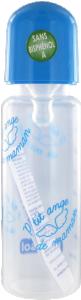 Bébisol biberon tétine silicone à 3 vitesses 240 ml