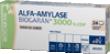 Alfa-amylase maux de gorge