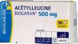 Acetylleucine biogaran 500 mg, comprimé