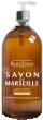 Beauterra savon liquide de marseille vanille miel flacon pompe